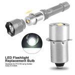 1 W P13.5S Base Mise À Jour LED Ampoule Lampe de Poche de Remplacement Lampes Torches Torche LED Kit de Conversion Ampoule pour Lampe Torche Lampe Travail d'urgence(6V) de la marque Aramox image 2 produit