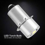 1 W P13.5S Base Mise À Jour LED Ampoule Lampe de Poche de Remplacement Lampes Torches Torche LED Kit de Conversion Ampoule pour Lampe Torche Lampe Travail d'urgence(6V) de la marque Aramox image 3 produit
