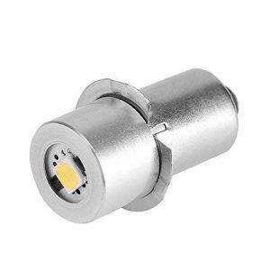 1 W P13.5S Base Mise À Jour LED Ampoule Lampe de Poche de Remplacement Lampes Torches Torche LED Kit de Conversion Ampoule pour Lampe Torche Lampe Travail d'urgence(6V) de la marque Aramox image 0 produit