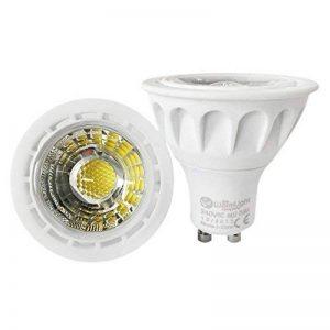 1 x Ampoule LED Dimmable GU10 6W à culot de Qualité Supérieure pour Projecteur à Lampe de Couleur Bleu de la marque YAYZA! image 0 produit