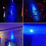1 x Ampoule LED Dimmable GU10 6W à culot de Qualité Supérieure pour Projecteur à Lampe de Couleur Bleu de la marque YAYZA! image 4 produit