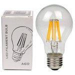 10×Neverland Dimmable 4W E27 Déco Vintage Ampoule vis Edison LED Energy Saving Filament Lumières Candle Ampoule 2700K Blanc Chaud Équivalent 30W 220V C34# de la marque Neverland image 4 produit