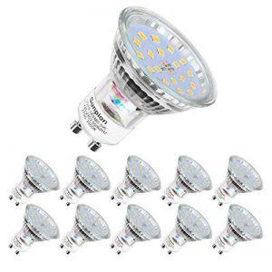 (10 Pack)5W Ampoule LED Spot Lumiere LED,Sunpion LED Lampe Spot Culot Super Lumineux 450LM Consommés Équivalent 40W de la marque Sunpion image 0 produit
