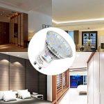 (10 Pack)5W Ampoule LED Spot Lumiere LED,Sunpion LED Lampe Spot Culot Super Lumineux 450LM Consommés Équivalent 40W de la marque Sunpion image 4 produit