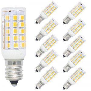 10 Pack E12 LED Bulb 5W Spot LED Light 44 SMD 2835LEDs Blanc Chaud 3000K Super Brillant 400LM Ampoule Lampe LED AC220V-240V de la marque Tatalantai image 0 produit