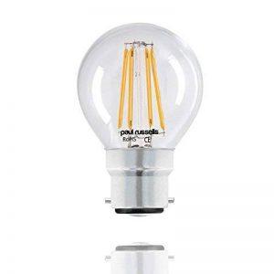 10x 4W = 40W G45B22Ampoule à filament Blanc chaud 2700K LED Mini Globe à baïonnette LED clair Balle de golf ampoule à incandescence 40W équivalent lamps de la marque paul russells image 0 produit