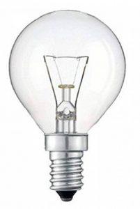 10x 40W classique Mini globes ampoules rond Transparent, ses E14à petite vis, balle de golf Lampes à incandescence, 390lm, Secteur 240V de la marque PREMIUM image 0 produit
