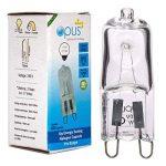 10 X G9 Ampoules Halogènes Lampe Blanc Chaud 18W = 25W de la marque Opus Lighting Technology image 3 produit