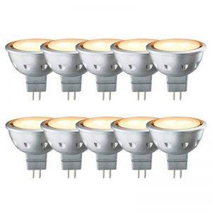 10x Paulmann Ampoule Réflecteur LED 5W GU5,312V 30° Doré éclairage 2000K Extra chaud comme Bougie Lumière de la marque Paulmann image 0 produit