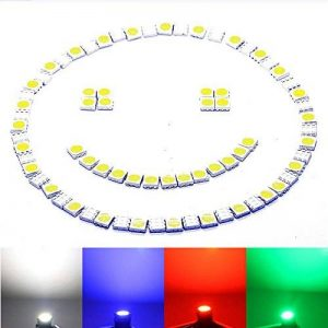 100X LED SMD 5050Chip HIGH POWER à froid–SMD blanches Diode Blanc blanch Lot de diodes Bleu Blanc Rouge de la marque LED-Mafia image 0 produit