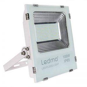 100W Projecteur Led IP65 Spot Led Extérieur 6000K 9000lm Projecteur LED Extérieur étanche Lumière du jour blanc 500W Equivalent halogène, lumières de sécurité, Lumières d'inondation de la marque LEDMO image 0 produit