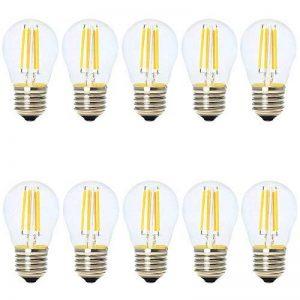 10X Ampoule E27 Edison Vintage Filament LED 4W,Non dimmable,Equivalence Incandescence 30W,AC 220V de la marque Falale image 0 produit