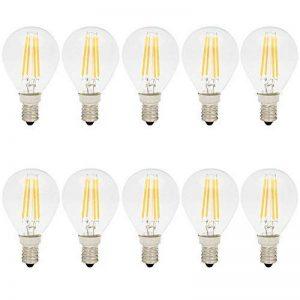 10X E14 Ampoule Edison Vintage Dimmable 4W Filament LED G45 Ampoule Vintage Lampe à Filament Blanc Chaud 400LM Super Brillant LED de Edison AC220V de la marque ITALASA image 0 produit