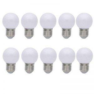 10X E27 Couleur LED 1W Ampoules de Blanc Lampe Color LED Bulb 70-100LM Faible Consommation Lampe LED 220V-240V de la marque ITALASA image 0 produit