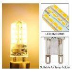 10X G9 Ampoule LED 2.5W Super Lumineux LED Bulb 32 SMD 2835 Spot LED Blanc Chaud 200-220LM LED à économie d'énergie Ampoule LED AC200-240V de la marque Goldwinge image 4 produit