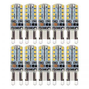10X G9 Ampoule LED 2.5W Super Lumineux LED Bulb 32 SMD 2835 Spot LED Blanc Chaud 200-220LM LED à économie d'énergie Ampoule LED AC200-240V de la marque Goldwinge image 0 produit
