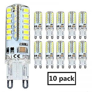 10X G9 Ampoule LED 3.5W Ampoule Lampe 48 SMD 2835LED Blanc Froid 350LM Super Lumineux LED Bulb AC 200-240V de la marque Goldwinge image 0 produit