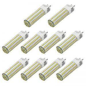 10X MENGS® G12 Lampe à LED 10W AC 85-265V Blanc Chaud 3000K 108x2835 SMD avec revêtement céramique et l'aluminium de la marque MENGS® image 0 produit