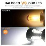 1156 BA15S LED Auto Ampoule 921 912 T10 T15 18-SMD Feu Recul/Feu Frein/Feu Direction Voiture Lampe Blanc DRL 6000K 12-24V (2 PCS) de la marque Suparee image 4 produit