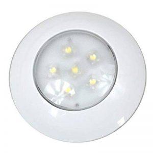 12–24V 6pcs LED Cercle Cadre véhicule Auto Intérieur Lampes de Plafond pour caravane, cabine, RV avec ce RoHS de la marque PAVEDGE image 0 produit