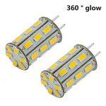12V 5W G6.35 Ampoule LED blanc chaud 3000K Bipin JC type 35W halogene remplacement LED G6.35 / GY6.35 Ampoule pour lampe de bureau, Accent, affichage, eclairage paysager 2-packs de la marque ZSZT image 3 produit