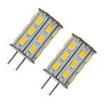 12V 5W G6.35 Ampoule LED blanc chaud 3000K Bipin JC type 35W halogene remplacement LED G6.35 / GY6.35 Ampoule pour lampe de bureau, Accent, affichage, eclairage paysager 2-packs de la marque ZSZT image 4 produit