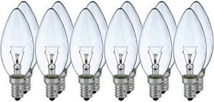 12x lampe 40W E14 bougie clair blanc ampoule à incandescence classique de la marque NCC-Licht image 0 produit