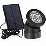 15 DEL Lumière solaire de sécurité - eclairage de sécurité d'extérieur, Lampe Solaire Jardin, lampe solaire exterieur par SPV Lights: les lampes solaires et les spécialistes de l'éclairage (2 ans gratuit garantie) de la marque SPV Lights image 3 produit