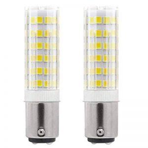 1819®2-packs BA15D Ampoule LED 3W/5W Ampoule Lampe Blanc Chaud 3000K Blanc Froid 6000K Super Lumineux LED Bulb Double brancher ampoule de baïonnette SBC AC 220V-240V (5W, Blanc Froid) de la marque 1819 image 0 produit