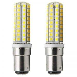 1819®5X BA15D Ampoule LED 3W/5W Ampoule Lampe Blanc Chaud 3000K/Blanc Froid 6000K Super Lumineux LED Bulb AC 115V/127V/220V (5W, Blanc Froid) de la marque 1819 image 0 produit