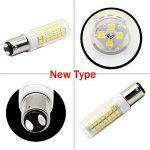 1819 BA15D ampoules LED 6 W équivalent à 75 W Ampoule halogène, 95–240 V blanc 6000 K de la marque 1819 image 3 produit