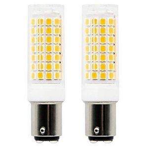 1819 BA15D ampoules LED 6 W équivalent à 75 W Ampoule halogène, 95–240 V blanc chaud 3000 K de la marque 1819 image 0 produit