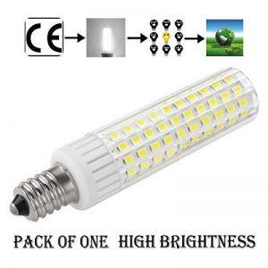 1819 Dernière Modèle E14 LED Ampoules Non Dimmable Haute Luminosité 8.5W équivalent à 100W Ampoule Halogène, 90–265V Blanc Froid 6000K de la marque 1819 image 0 produit