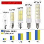 1819 Dernière Modèle E14 LED Ampoules Non Dimmable Haute Luminosité 8.5W équivalent à 100W Ampoule Halogène, 90–265V Blanc Froid 6000K de la marque 1819 image 4 produit