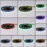1M / 2M / 3M / 4M faible consommation d'énergie 5050 RVB USB LED Light Strip 4PIN Super lumineux TV Retour Kits de lumière de la marque JullyeleFRgant image 1 produit