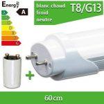1x LEDVero Tubes LED T8 60cm - 8W Ton:blanc chaud (WW) de la marque LEDVero image 3 produit