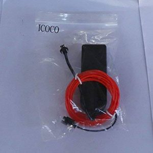 2m Flexible EL Fil Tube Corde Neon Light Glow contrôleur de voiture Décoration de fête de la marque CLKJCAR image 0 produit