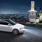 2 pcs de voiture LED Phare, Gogo Roadless 60 W 3800LM H4 6000 K LED Ampoule de phare Kits, cob Chips/Durée du pilote Interne, 50000 heures H4 ampoules de phare de la marque GOGO image 3 produit