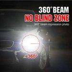 2 pièces D1S Phares de Voiture HID Ampoules au Xénon - BeiLan 8000K Lumière Blanche Froide Super Brillant 35W 12V Remplacer pour Halogène ou LED Ampoule de Phare Extérieures auto de la marque BeiLan image 3 produit