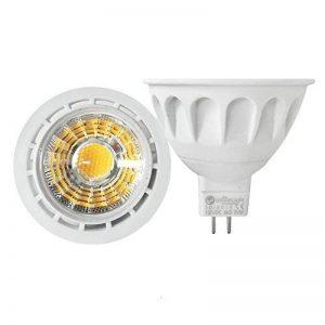 2 x Ampoule LED Dimmable MR16 6W à culot de Qualité Supérieure pour Projecteur à Lampe de Couleur Rouge de la marque YAYZA! image 0 produit