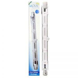 2 x Ampoules Eco Halogènes Crayon - Culot R7s - 240 Watts consommés de la marque Opus Lighting Technology image 0 produit
