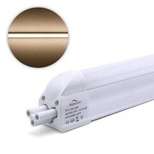 2 X Auralum® 16Watt T5 120cm 1550LM Tube Fluorescent de Tube de LED Blanc Chaud 2800~3200K SMD 3535*96LED de la marque AuraLum image 0 produit