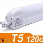2 X Auralum® 16Watt T5 120cm 1550LM Tube Fluorescent de Tube de LED Blanc Chaud 2800~3200K SMD 3535*96LED de la marque AuraLum image 1 produit