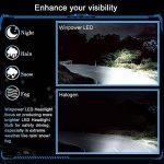 2 x H4 LED Éclairage Avant Ampoule conversion Kit tout-en-un Blanc 80 W 6000K de la marque Winpower image 2 produit
