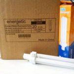 20x Energetic de marque faible économie d'énergie G24d-326W Blanc Froid 4200K PL ampoule fluorescente compacte lamps 2broches 840PLC de la marque ENERGETIC image 1 produit
