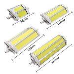 220V R7S lampe LED 78mm 118mm 135mm 189mm 10W 15W 20W 25W Ampoule à LED COB faciles à lumière halogène pour projecteur spot, blanc chaud, 118mm 15W/AC85-265V de la marque hntoolight image 2 produit