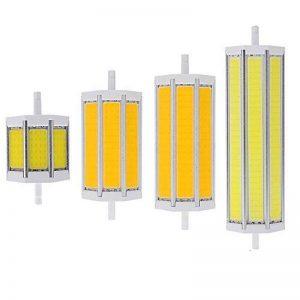 220V R7S lampe LED 78mm 118mm 135mm 189mm 10W 15W 20W 25W Ampoule à LED COB faciles à lumière halogène pour projecteur spot, blanc chaud, 118mm 15W/AC85-265V de la marque hntoolight image 0 produit