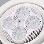24/35/40W bijoux affichage LED lampe piste spot lumière Swing ampoule magasin Hall de la marque Dailyinshop image 3 produit