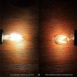 2W E12 Ampoules à Filament LED 2 diodes électroluminescentes COB Blanc Chaud 1600lm 2700K AC 110-130V de la marque Ampoules LED image 3 produit