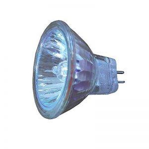 2x Ampoules halogènes Dimmable MR11 halogènes 10W 12V 2700-3000K GU4 blanc chaud cristal verre de quartz intérieur Maison de la marque HoneyFly image 0 produit
